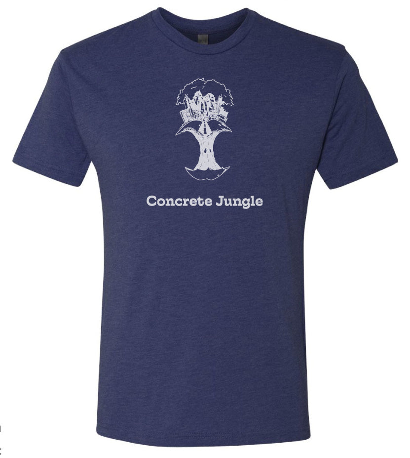 Concrete Jungle Blue T-Shirt