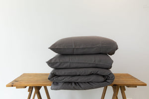 Linen Duvet Cover Sets with Pillow Cases