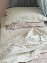 Beige Linen Sheet Set - Single