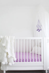 Lilac Dream Cot Sheet