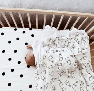 Milk Bottle Swaddle Wrap