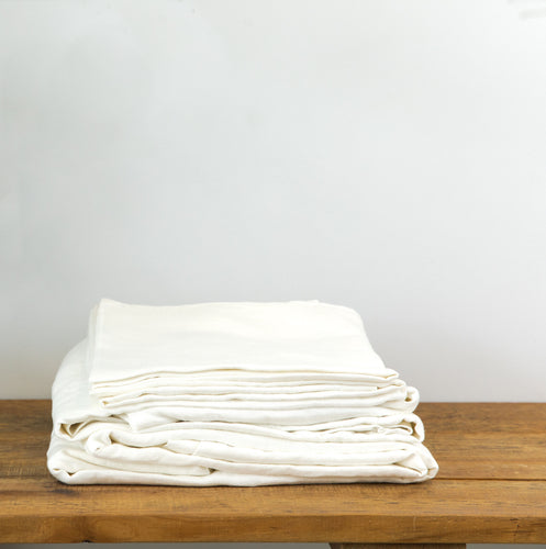 Linen Sheet Sets with Pillowcases