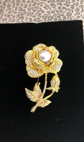 Bridal Jewelry Pearl Brooch Bridal Brooch Wedding Jewelry
