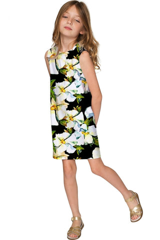 8f9cf89a93b Date Night Adele Elegant Floral Party Shift Dress