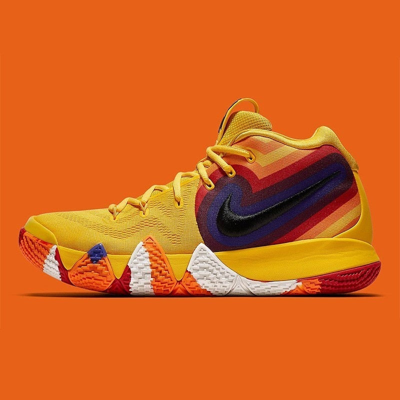 b6ce625dc73fb1 ... NIKE Kyrie 4 Original Mens Basketball Shoes Breathable Stability Anti-slip  Outdoor Sport Sneakers For