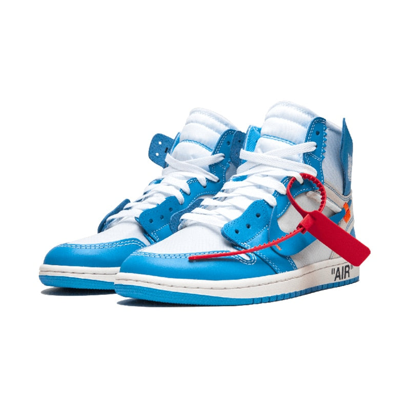 8c8d98a71ded ... Original New Arrival Authentic NIKE Air Jordan 1 X Off-White Men s  Basketball Shoes Sport