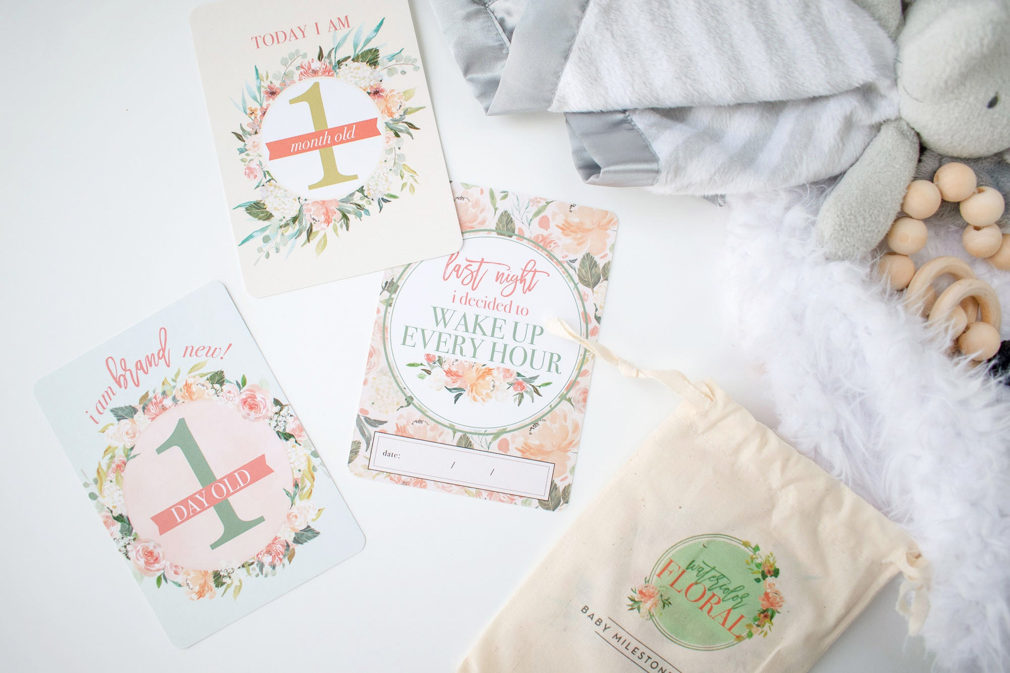 Product of the Month: Floral Milestone Cards