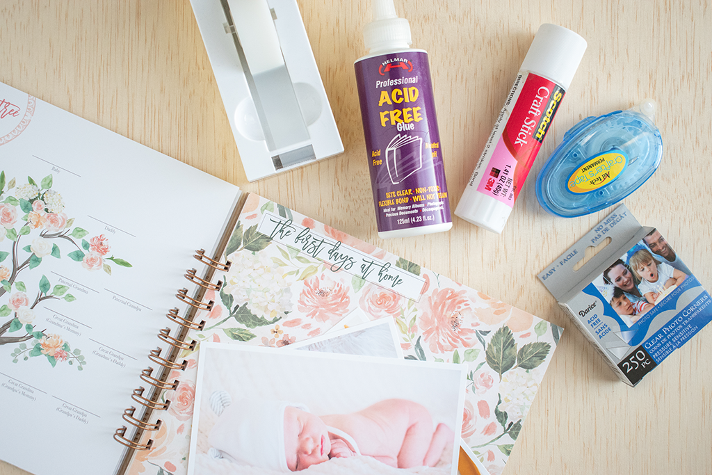 Our Favorite Photo-Safe Adhesives for Memory Books