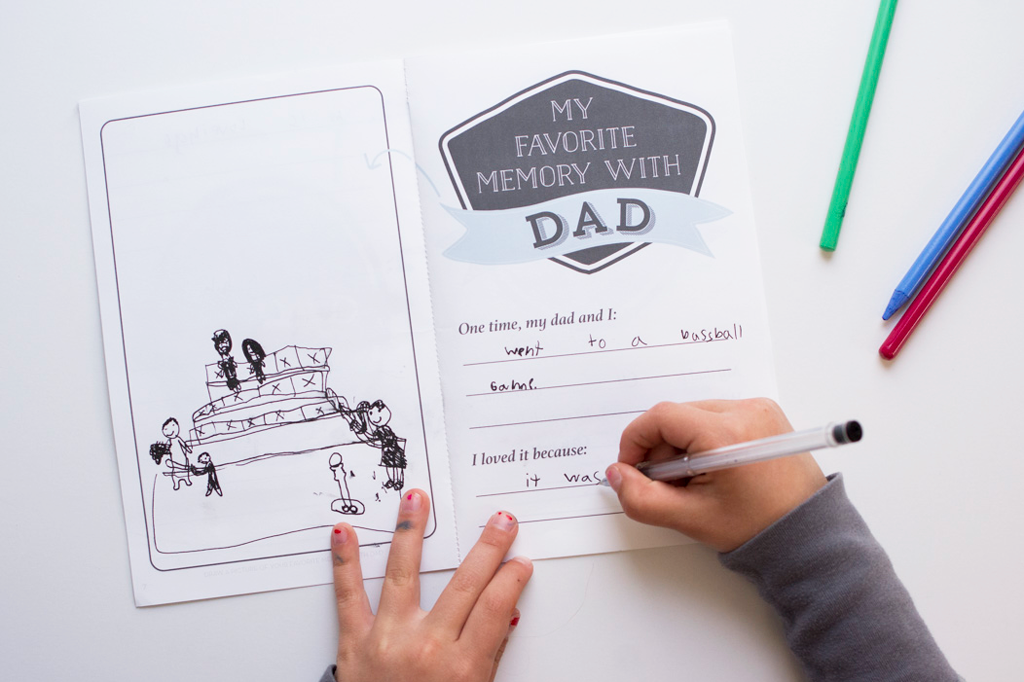Free Father's Day Booklet Download