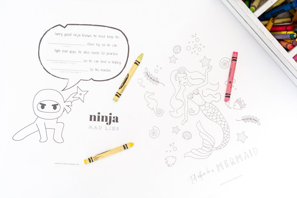 Free Coloring Pages for National Coloring Day