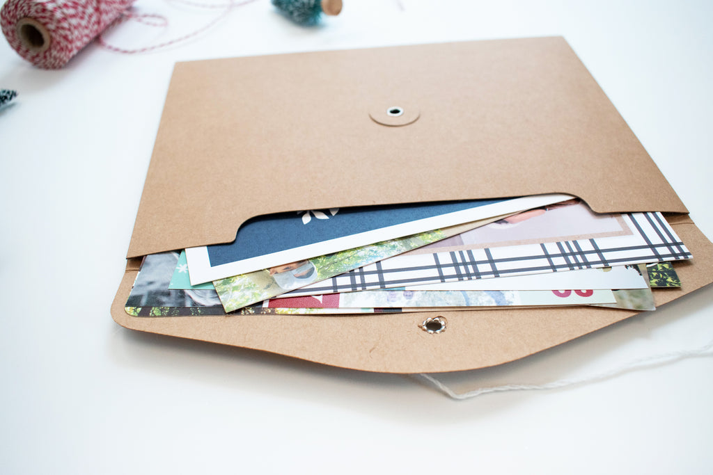 Christmas Card Holder: Nordic Hygge Holiday