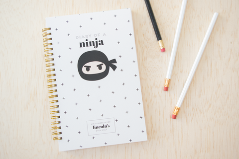 Personalized Ninja Notebook