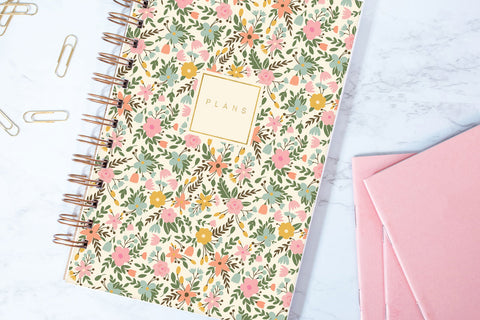 Rifle Floral Creme Planner