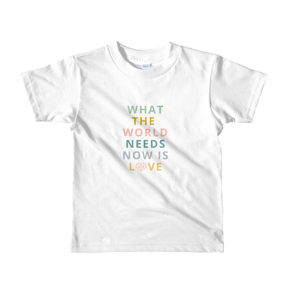 What the World Needs Toddler Tee