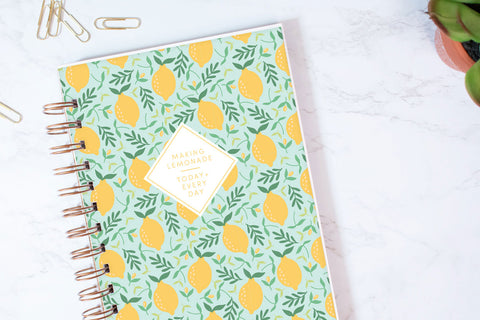 Making Lemonade Planner