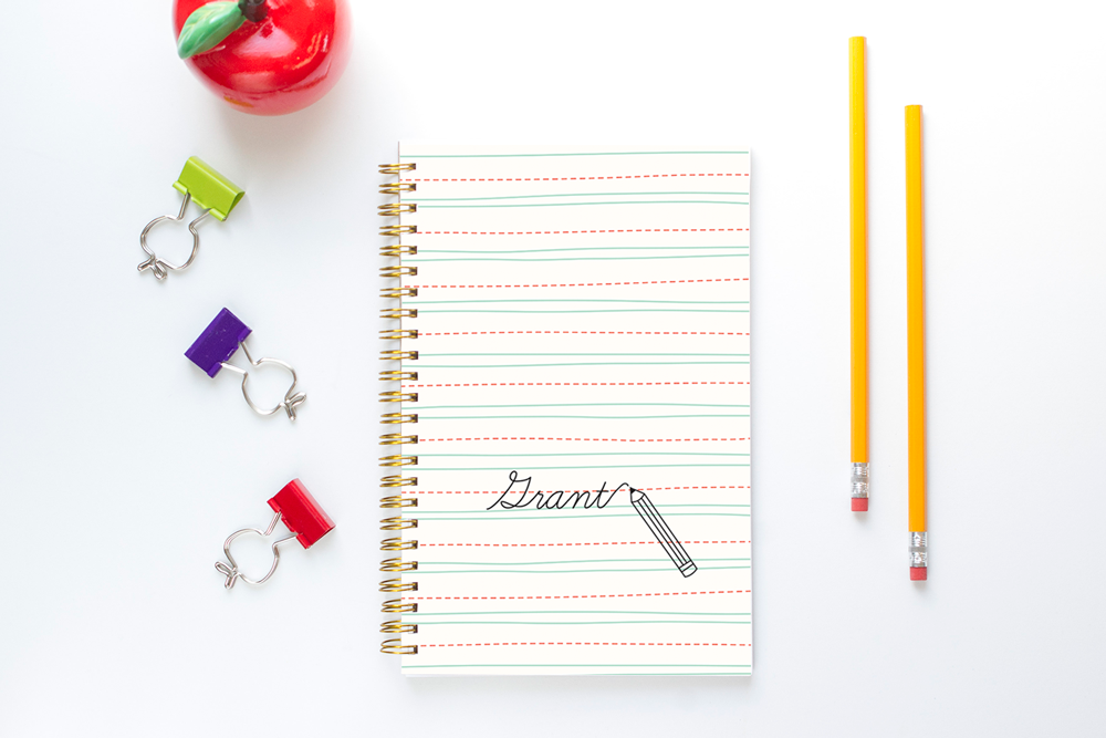 Homework Planner for Kids - Lined Paper
