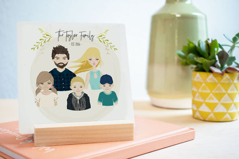 Family Portrait Tile