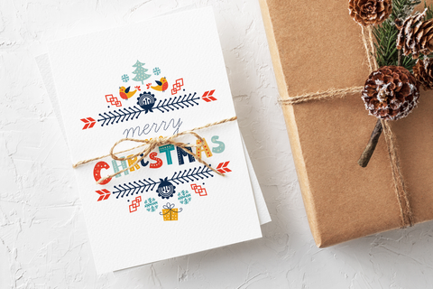 Nordic Christmas Card Set