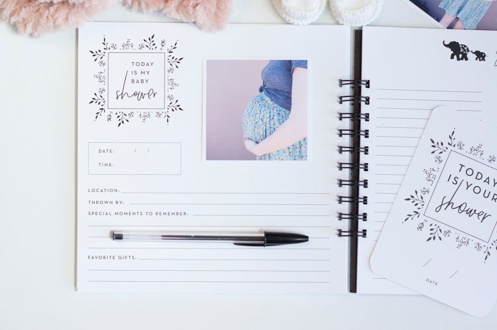 SINGLE PARENT Pregnancy Journal: Minimalist