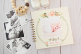 Welcome Baby: Watercolor Floral