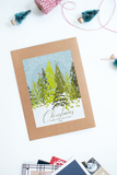 Christmas Card Holder: Winter Wonderland
