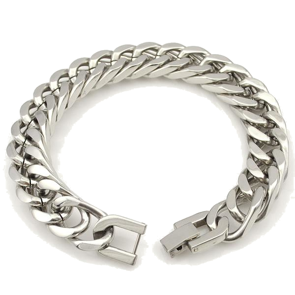 Men's Stainless Steel Bracelet - TacGarb