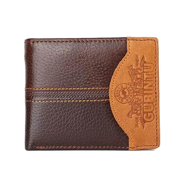 Genuine Leather Wallet W/Coin - TacGarb