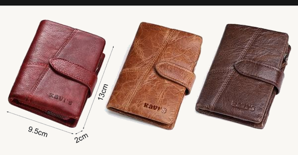 100% Genuine Leather Wallet - TacGarb