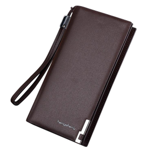 Men Long Bifold Business Wallet - TacGarb