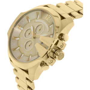 Diesel Men's DZ4360 Gold Stainless-Steel Quartz Fashion Watch - TacGarb