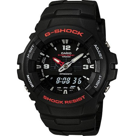 Casio Mens G-Shock Ana-Digi Watch, Molded Resin Case and Band - TacGarb