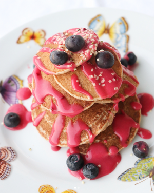 THE Easiest, Healthy Pancakes