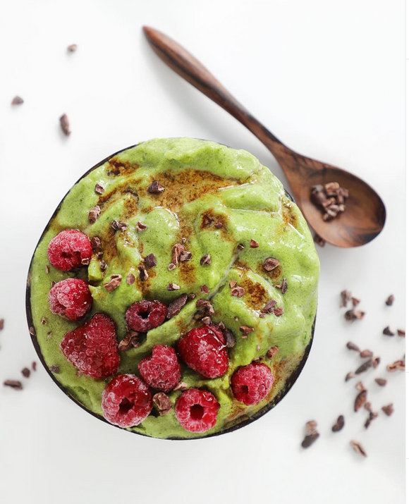 Guilt-free Green Smoothie Bowl