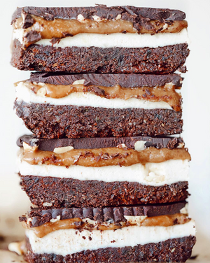 Raw Snickers Bar