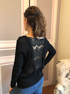 Pull Lacey noir