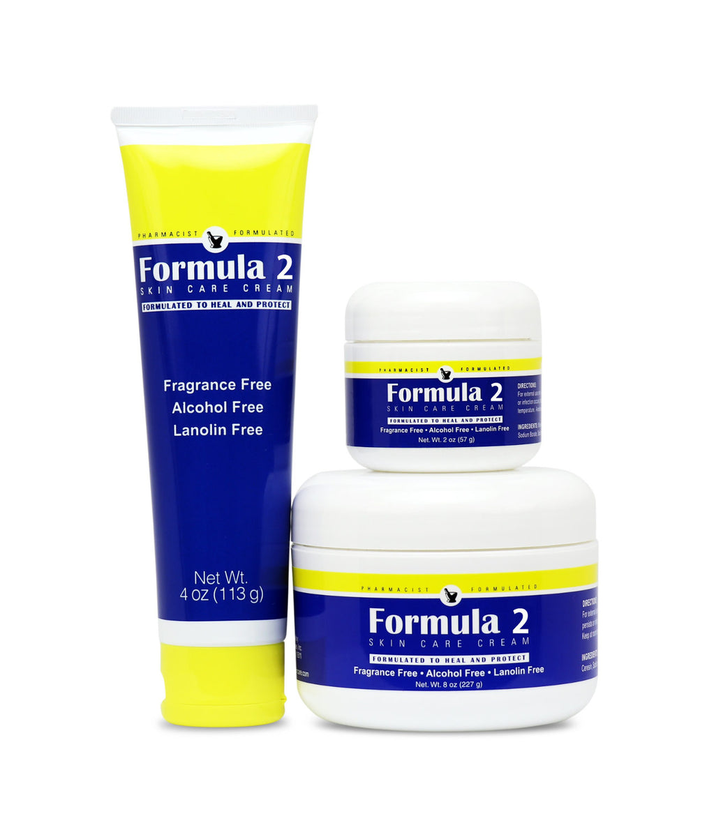 Formula 2 in Three Sizes