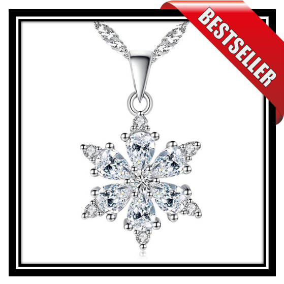 Snowflake Diamond™️ Pendant w/FREE NECKLACE