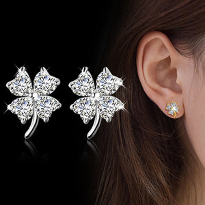 Lucky Lady Four Leaf Earring Set™️