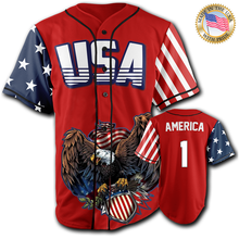 [Limited-Edition] USA Patriotic Jersey™️