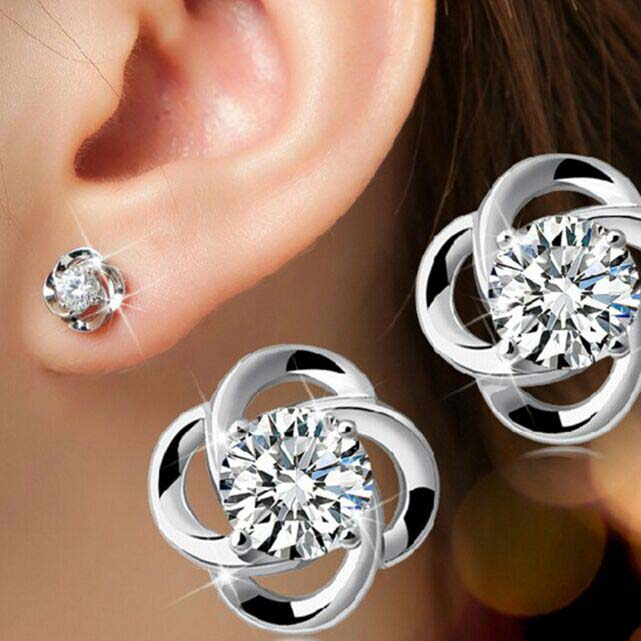 Shiny Happy Clover Earring Set™️