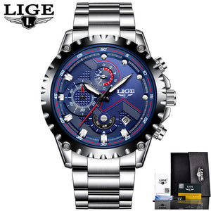 Luxury Full-Steel Business Waterproof Watch