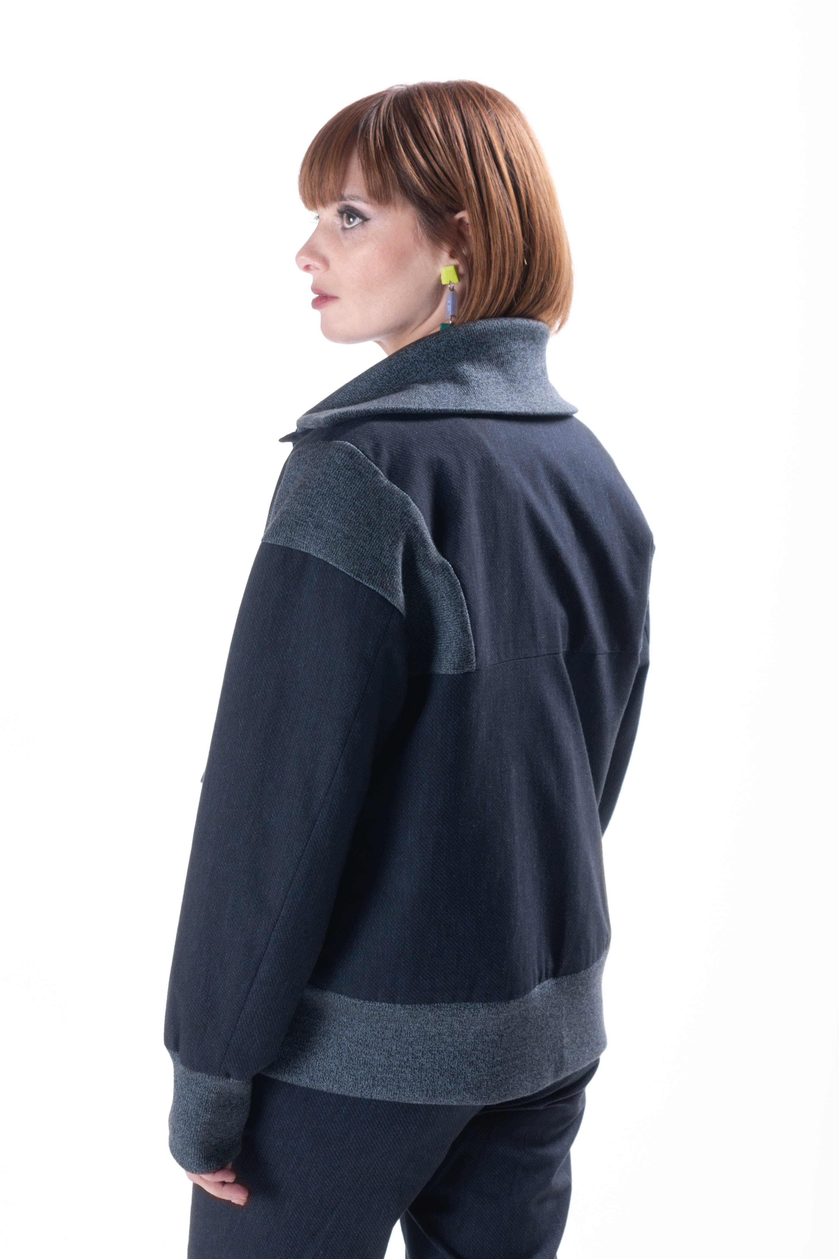 Simone Jacket  blue version