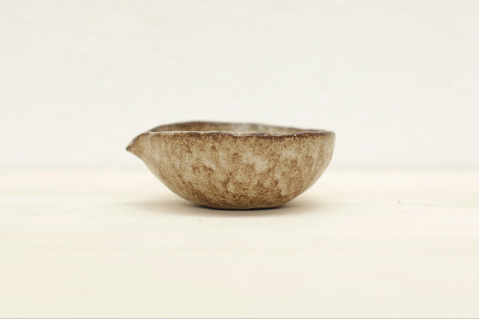 LIPPED BOWL BLACK