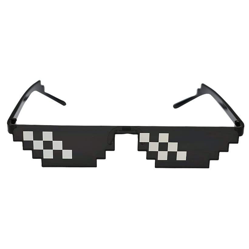 """Deal With It"" Pixel Sunglasses"