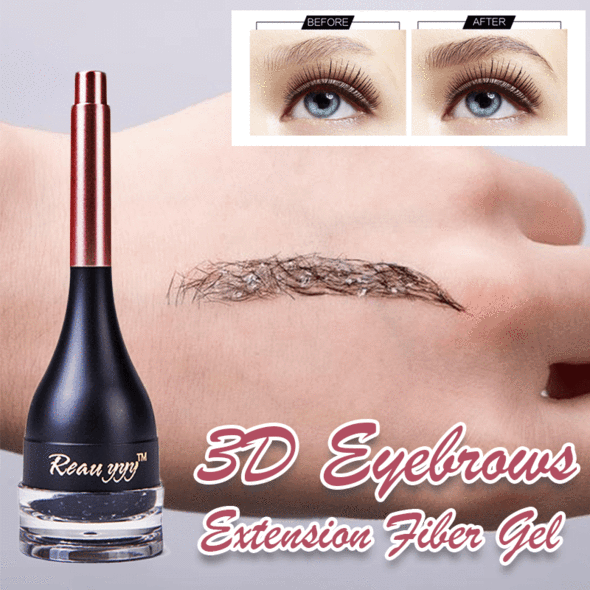 3D Eyebrow Extension Fiber Gel
