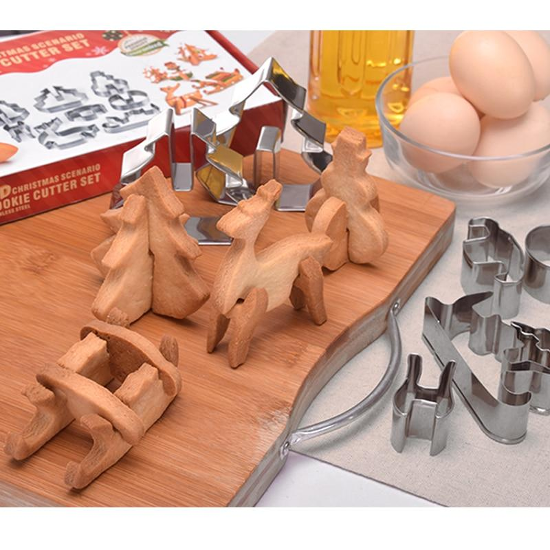 3D Christmas Cookie Cutter
