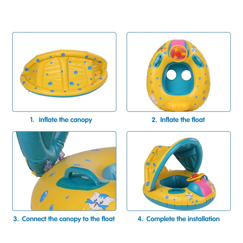 Inflatable Baby Pool Boat