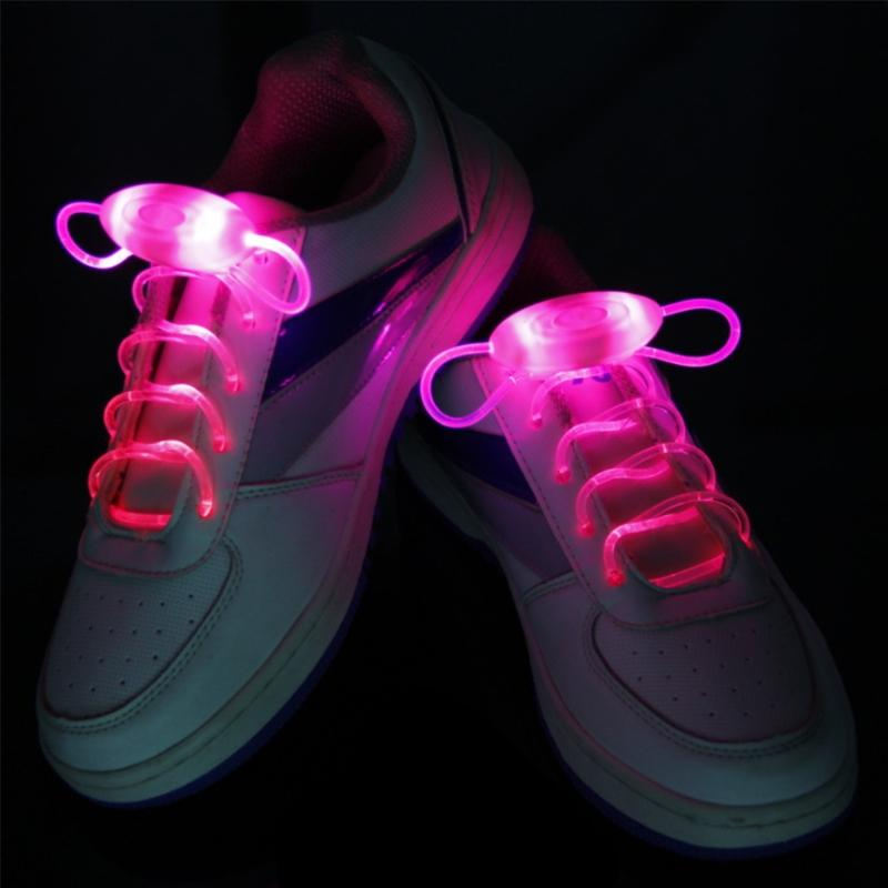 LED Glow in the Dark Shoelaces