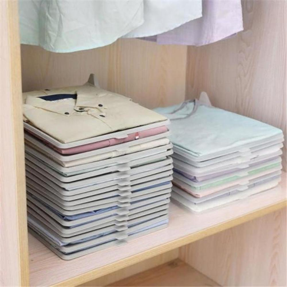 Clothing Organization Shelves