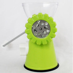 DIY Multifunction Manual Meat Grinder